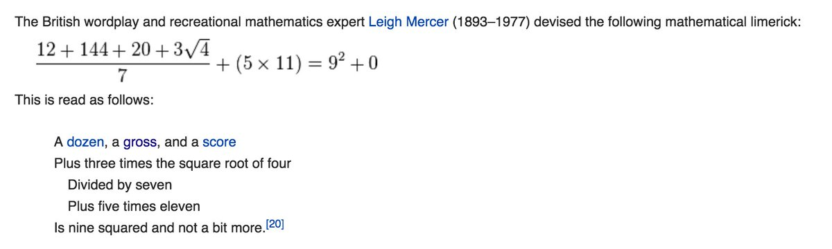 I just found the nerdiest thing down the Wikipedia rabbit hole and it's fantastic https://t.co/sMQKTbflta https://t.co/RAVkDBQUZQ