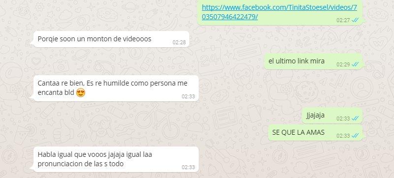 """Le mande a una amiga el video de la #JuntadaVirtual y estas fueron sus palabras:""""es re humilde como persona*  pic.twitter.com/rJo5DN2mTl"""