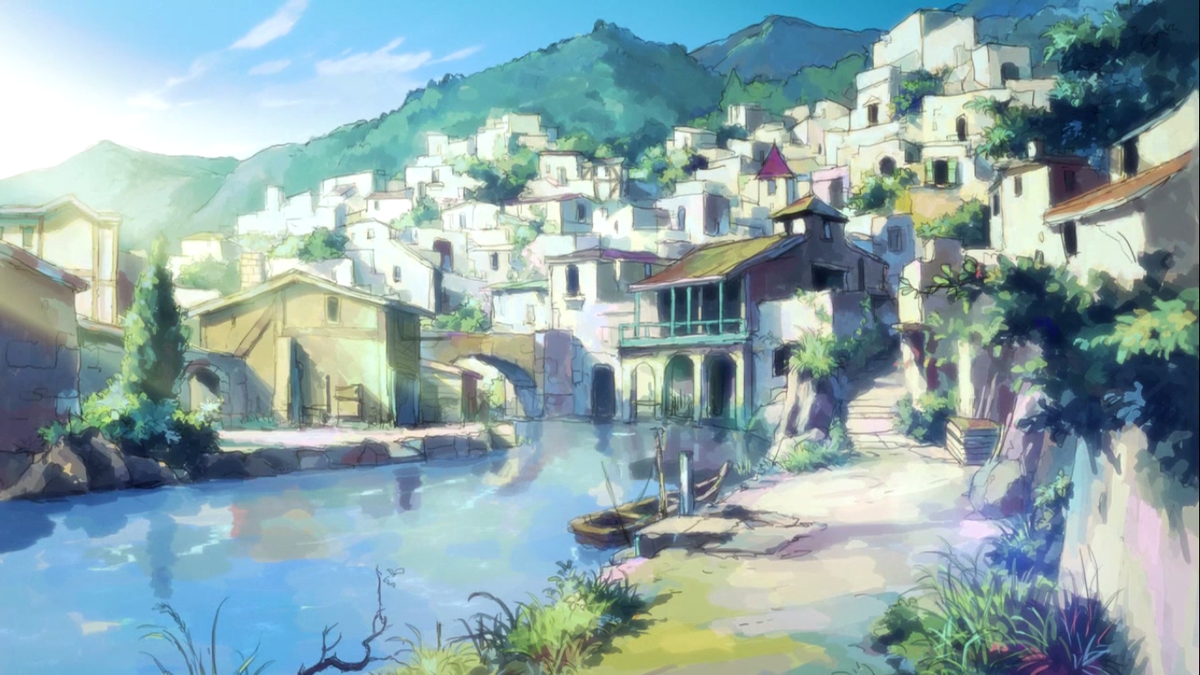 Mari Chan On Twitter Hai To Gensou No Grimgar S Sceneries Are
