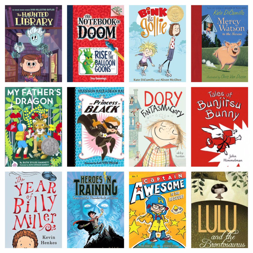 Top 10 (or so) Chapter Books for Transitioning Readers by   @librarianarika #nerdybookclub https://t.co/snmLIxPlkp https://t.co/tLFfojs8ig