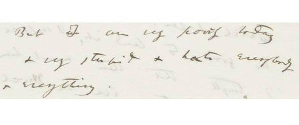 Lindsey Fitzharris على تويتر Charles Darwin In Letter From