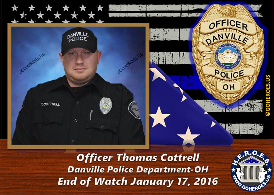 An Ohio Police Officer Has Been Killed By A Man Intent On Murdering Law Enforcement
