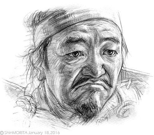 小山田信茂さんを描きました。 温水洋一さん「木戸を閉じよ。」 真田丸 丸絵 温水洋一『真田丸』  pic.twitter.com/UgmlRvADET