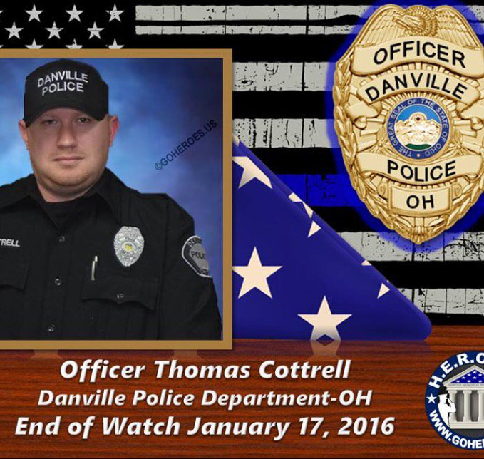 Danville Officer Thomas Cottrell targeted and killed