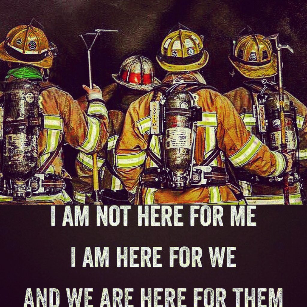 Fit To Fight Fire On Twitter At The Heart We Serve Quote By The
