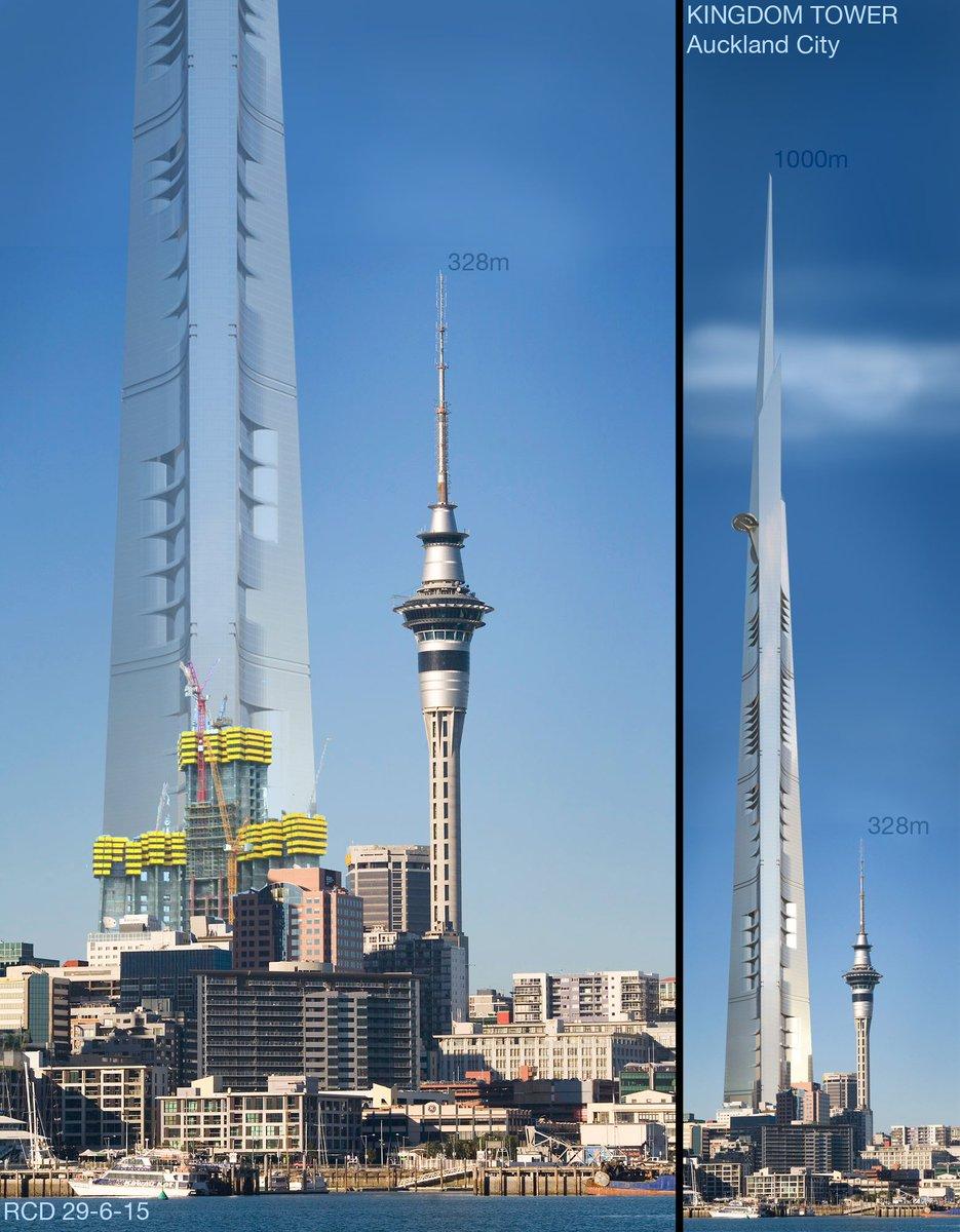 Kingdom Tower Height