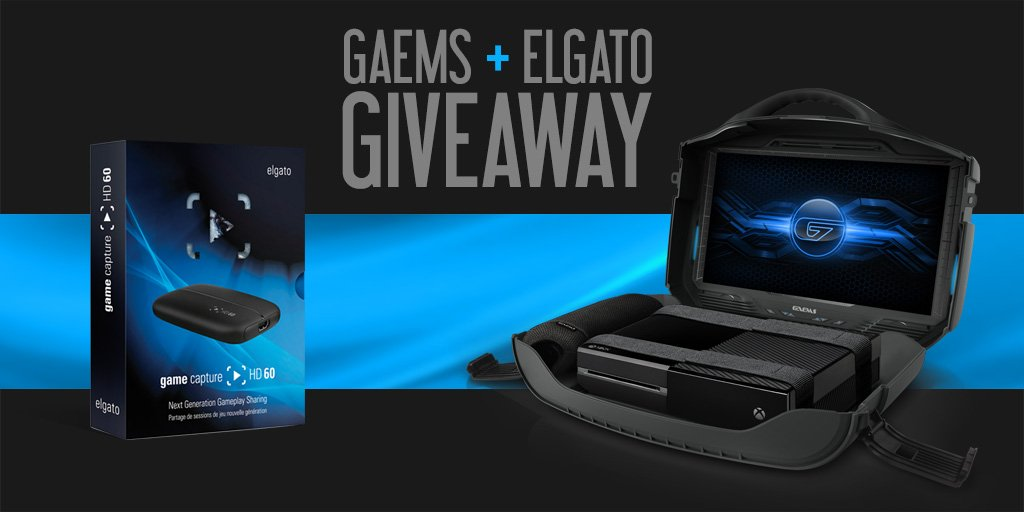 Follow & RT for a chance to WIN a GAEMS Vanguard & @elgatogaming HD60. Play, record & stream anywhere! Ends 1/22. https://t.co/XUpwJx2THx