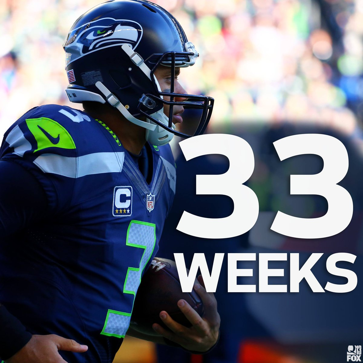 .@12s, start the countdown: There are 33 weeks until the Seattle @Seahawks kick off the 2016 regular season! https://t.co/oFCShNkwQW