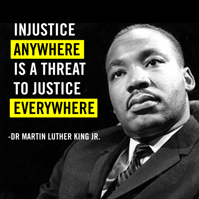 martin luther king jr and his fight to end injustice in america The civil rights movement & the segregation in the 1950's rosa parks was a very brave and strong lady that fought injustice martin luther king, jr gave his.
