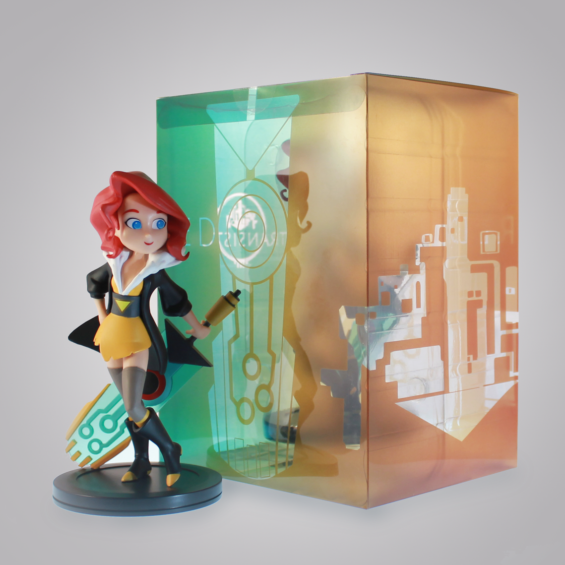 Visit our online store to get the new Transistor Collectible Figure! https://t.co/Y4qZTXSC1E  We ship worldwide! https://t.co/hx5Q1Qv6KT