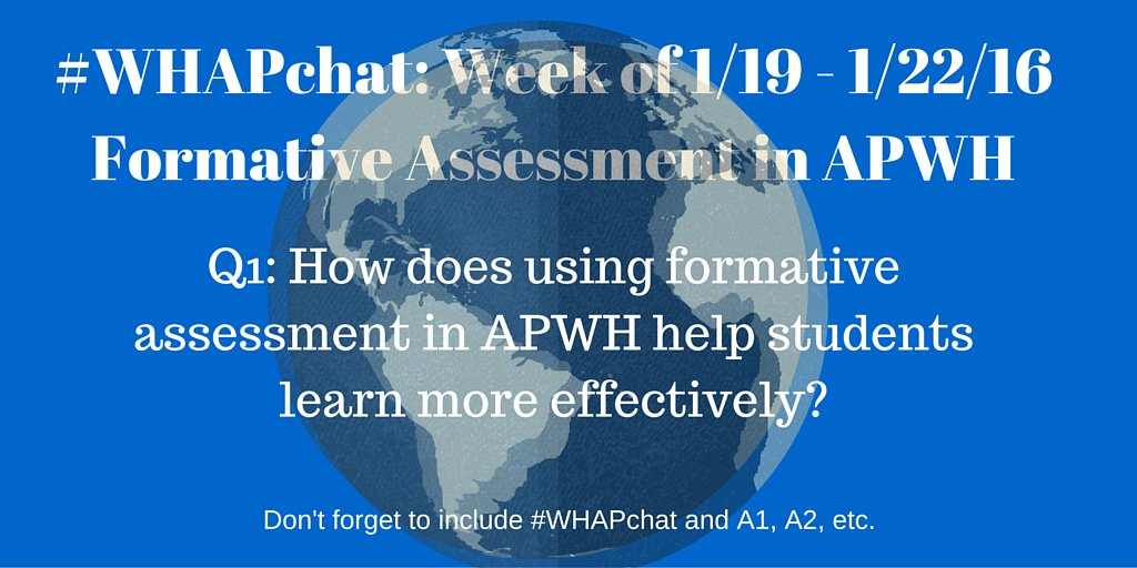 Thumbnail for #WHAPchat: Formative Assessment