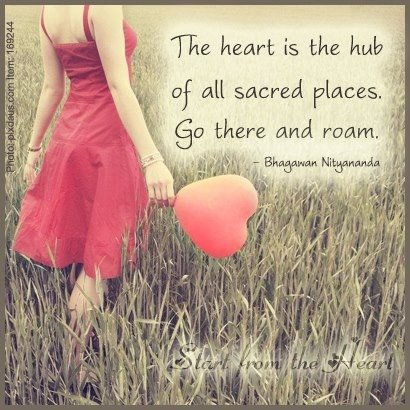 The heart is the hub of all sacred places. Go there and Roam.  #SpiritChat #IAmChoosingLove https://t.co/r0N3CWSnEt