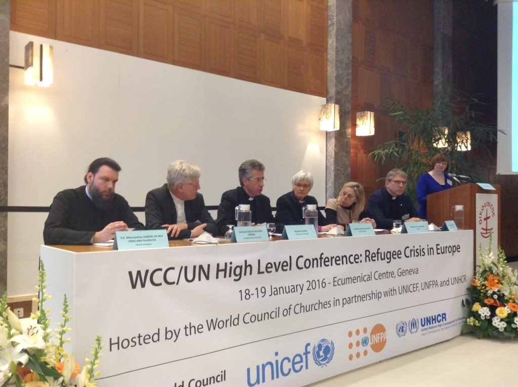 Mgr Marco Gnavi presents @santegidionews project of safe legal route to Italy #refugeeswelcome #WCC https://t.co/6NW5yNXiWc