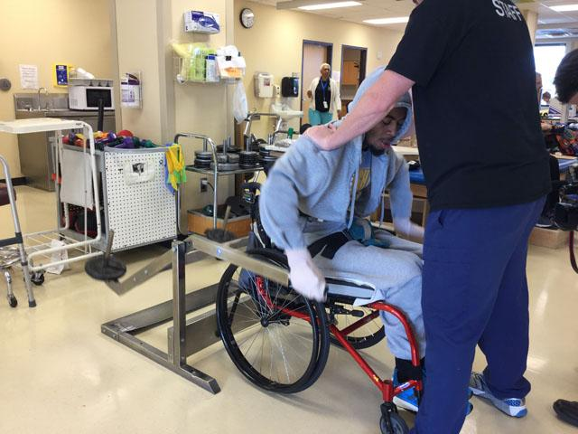 GREAT NEWS: Devon Gales now has movement in his legs and toes #SU https://t.co/cZOPhA7JmP https://t.co/63LdW9PvMx