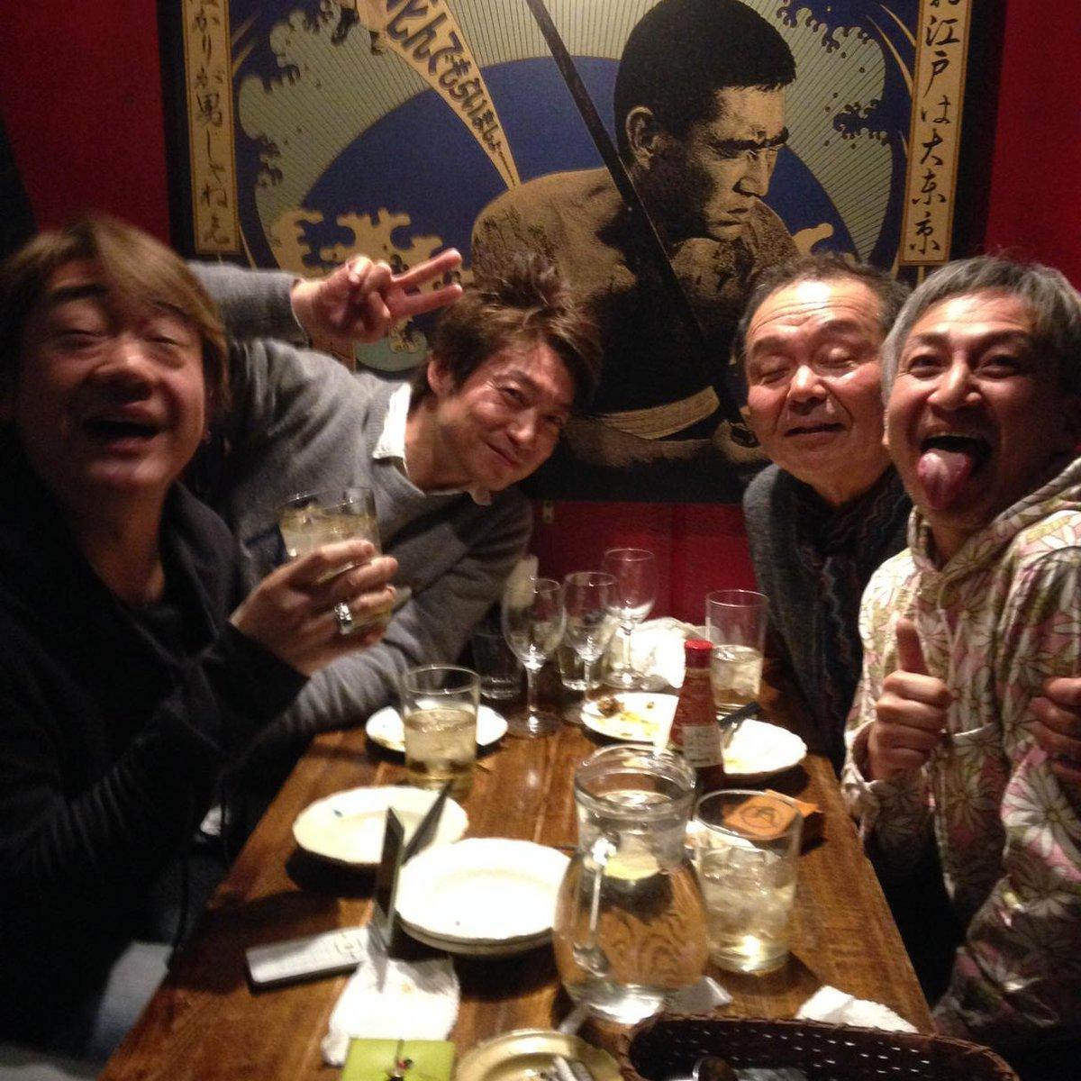 THE GOOD-BYE新年会やってます! 10枚目のアルバムのレコーディングの話も・・・ 乞うご期待!! https://t.co/vO3BAmnHxf