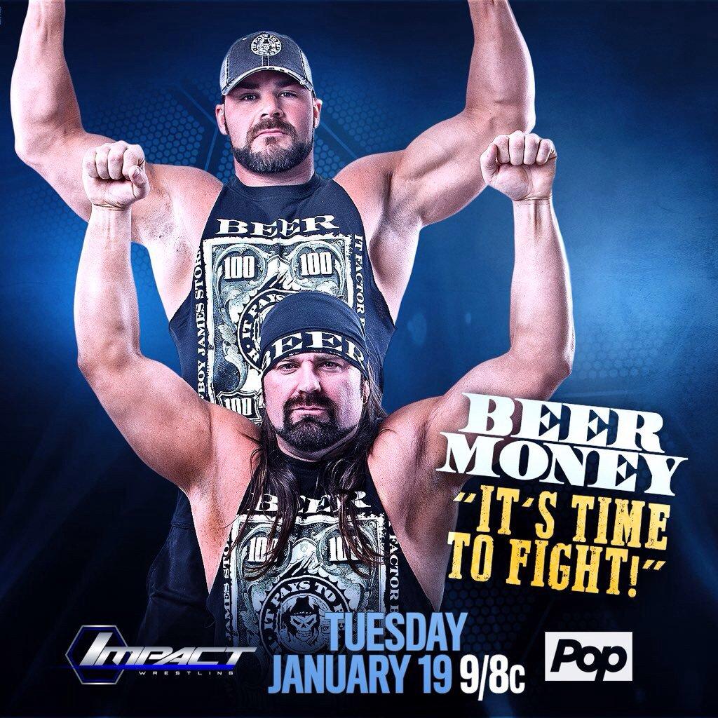 1/19 TNA Impact: Last Man Standing, Kong Speaks, Beer Money