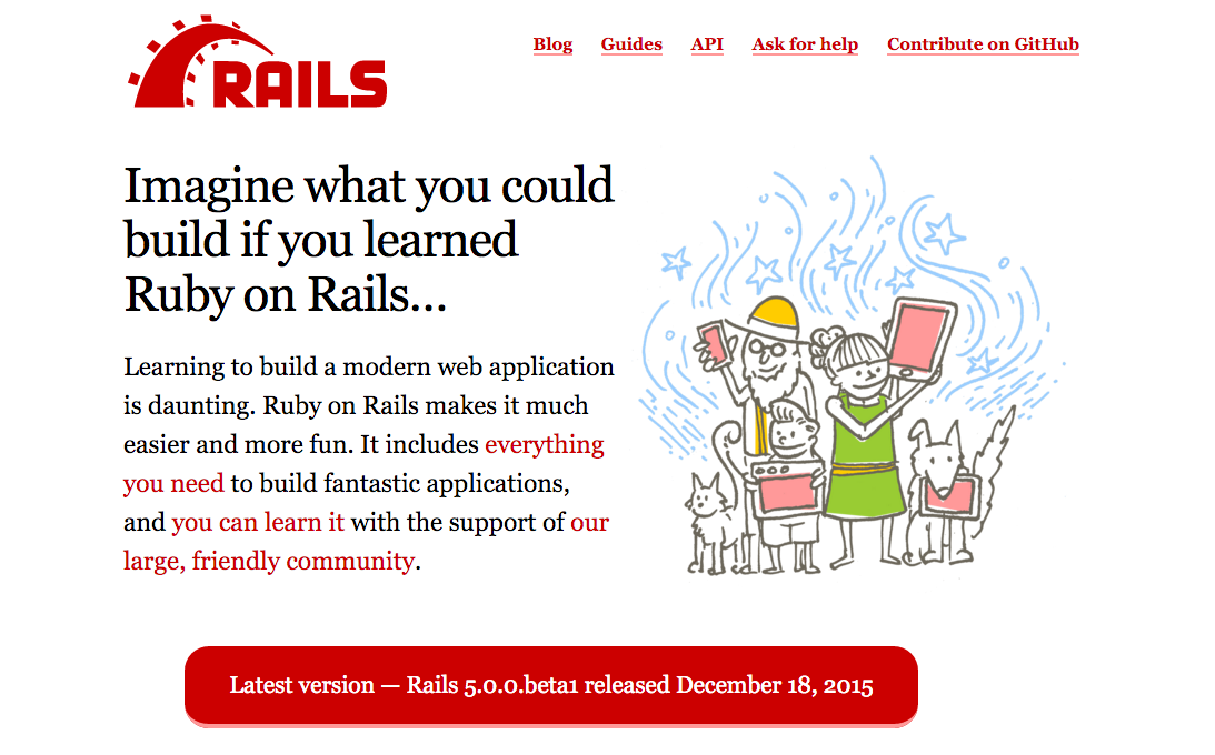Official Rails Site Gets a Redesign: https://t.co/cIvZlCZZlv https://t.co/ZaWLszKVym
