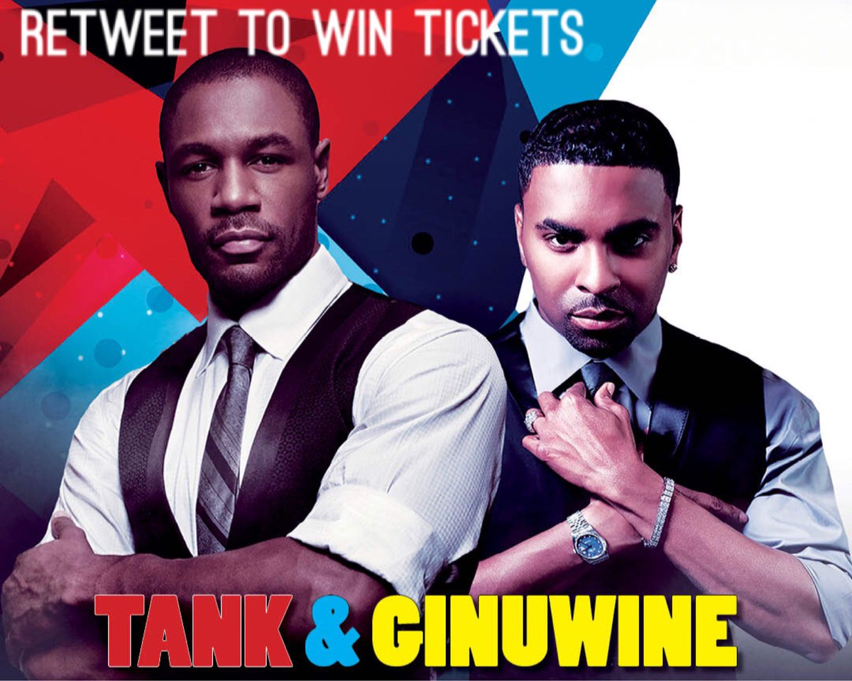 Retweet to WIN tickets to see @Ginuwine and @TheRealTank this Sat. Rules here: https://t.co/DuuLMXNjPS https://t.co/ft9XDaKzTS