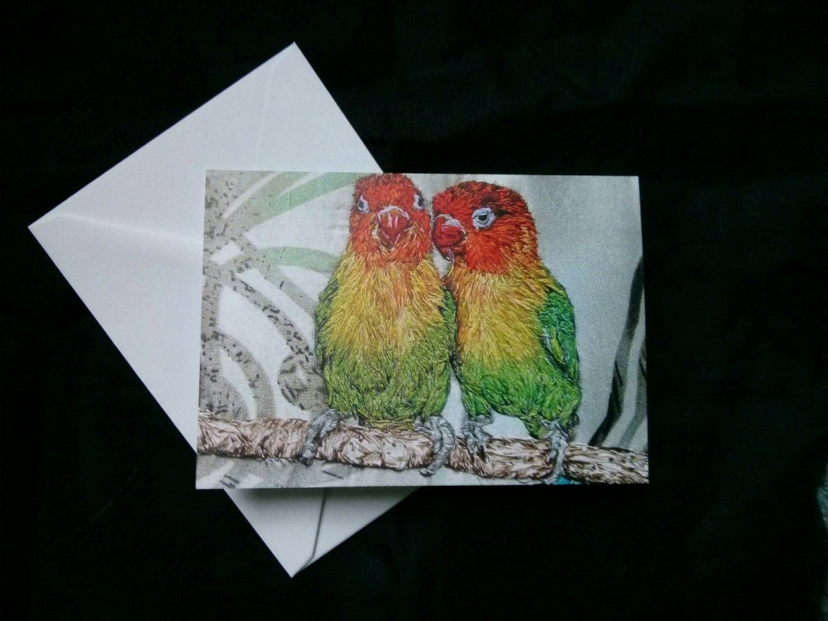 I created a design especially for valentine for the first time Lovebirds, but  can be used anytime #folksyhour https://t.co/jxBRNRlzPV