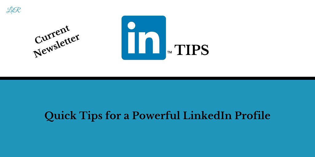 [#Newsletter] Quick tips for a Powerful #LinkedIn profile #LinkedInProfile https://t.co/JQ3Dh4FI18 https://t.co/rfl0BX8AN1