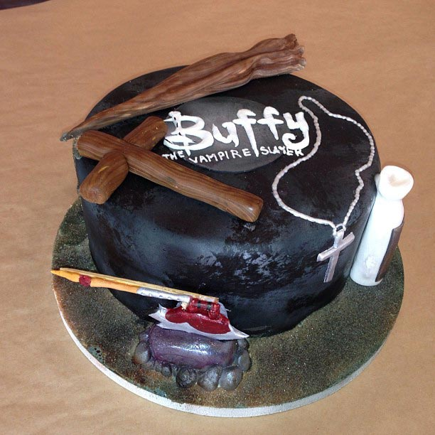 Modern Buffy BuffyToday Twitter - Slayer birthday cake