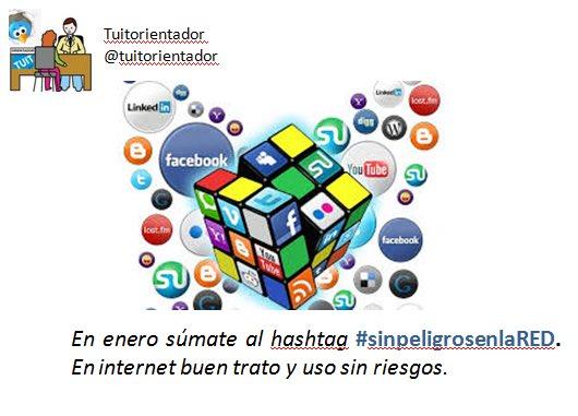 Este mes todos mis tuits de #sinpeligrosenlaRED en la cuenta de @Tuitorientador . ¡Súmate al hashtag! https://t.co/HsIuvq1Xej