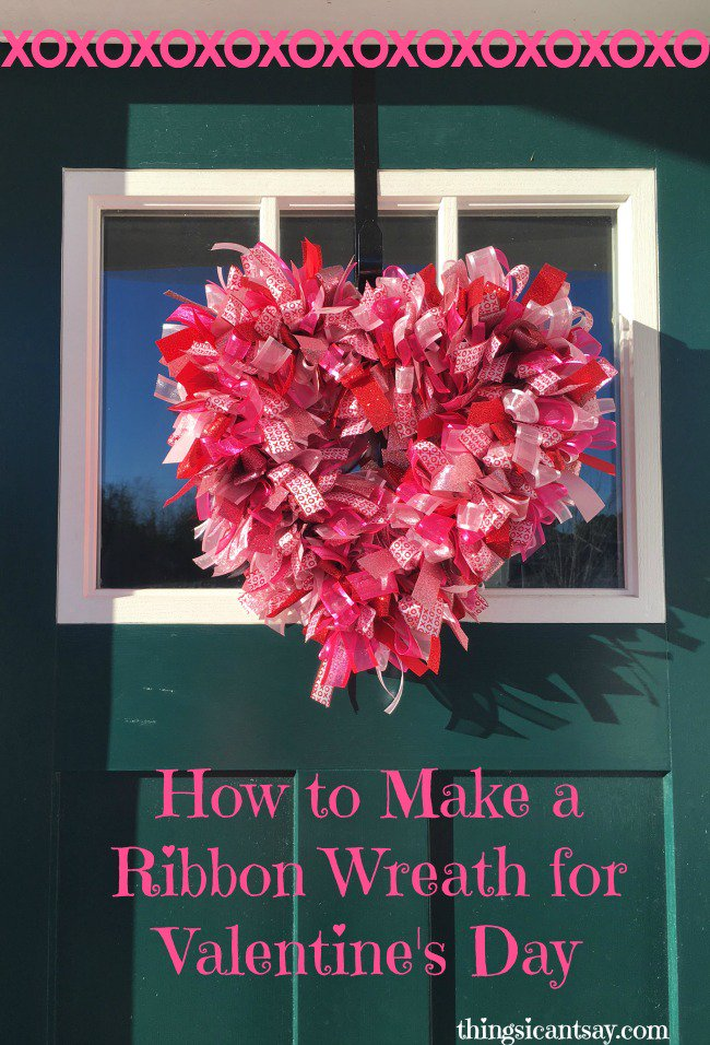 How to make a ribbon wreath for #ValentinesDay https://t.co/hEXT6OPD6D #crafts https://t.co/SFSY1JyPpm