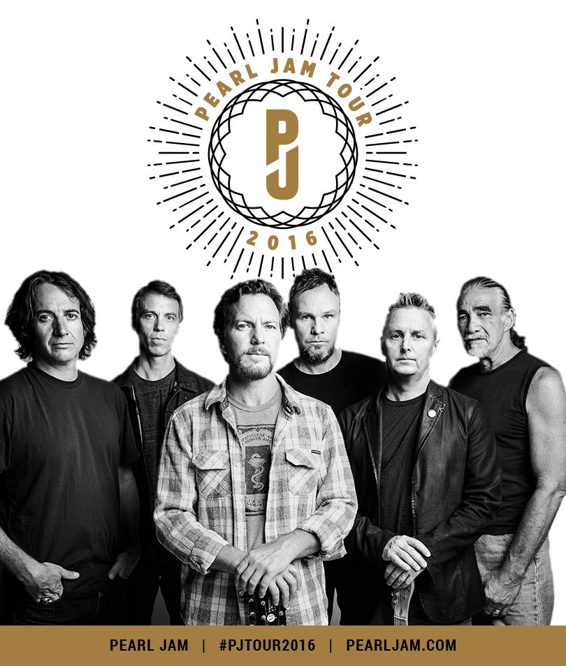 Pearl Jam tour 2016