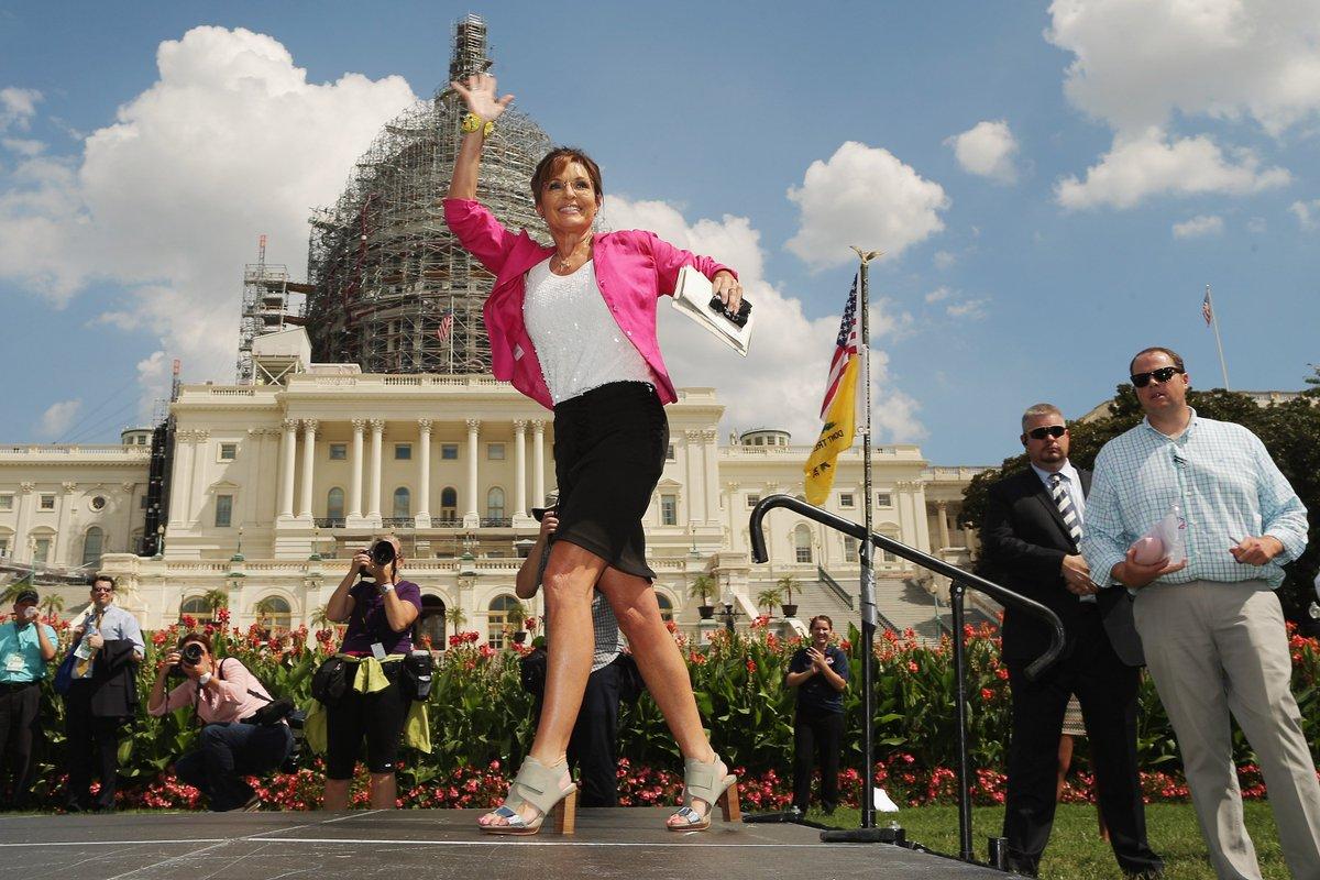 Sarah Palin ready to 'stump for Trump'