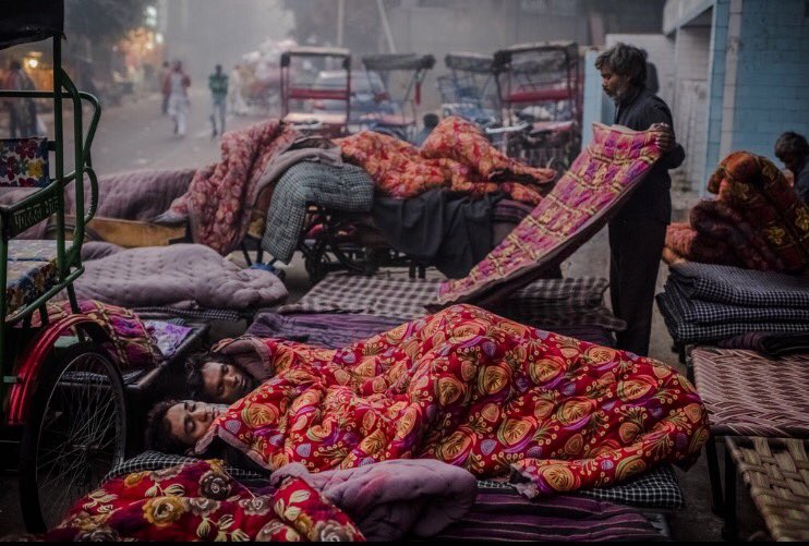 Le mafie del sonno di New Delhi India