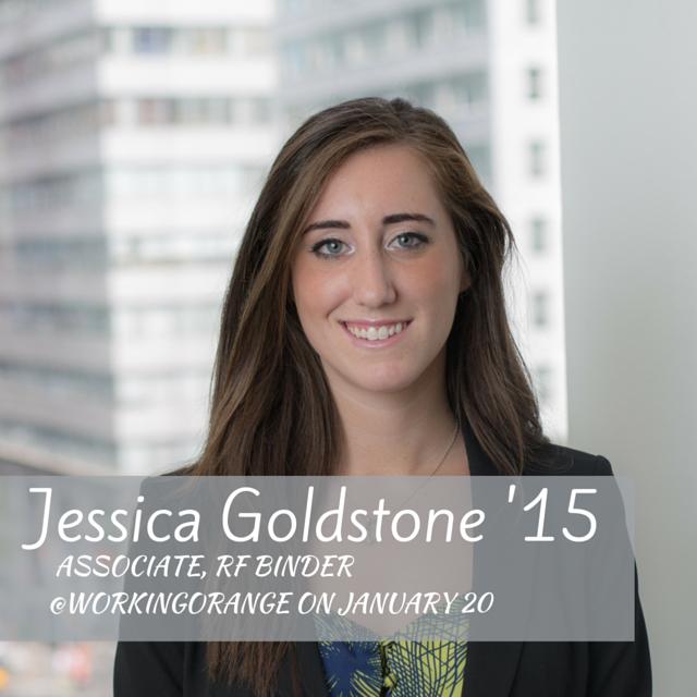 Thumbnail for @jessgoldstone15 as @WorkingOrange, 1/20/16