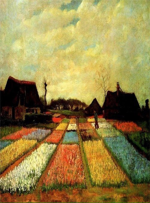 'Bulb Fields' by Vincent Van Gogh #paintings #art https://t.co/0ZO14iwhVf | @tweetletwoo rt @kevinkjh22