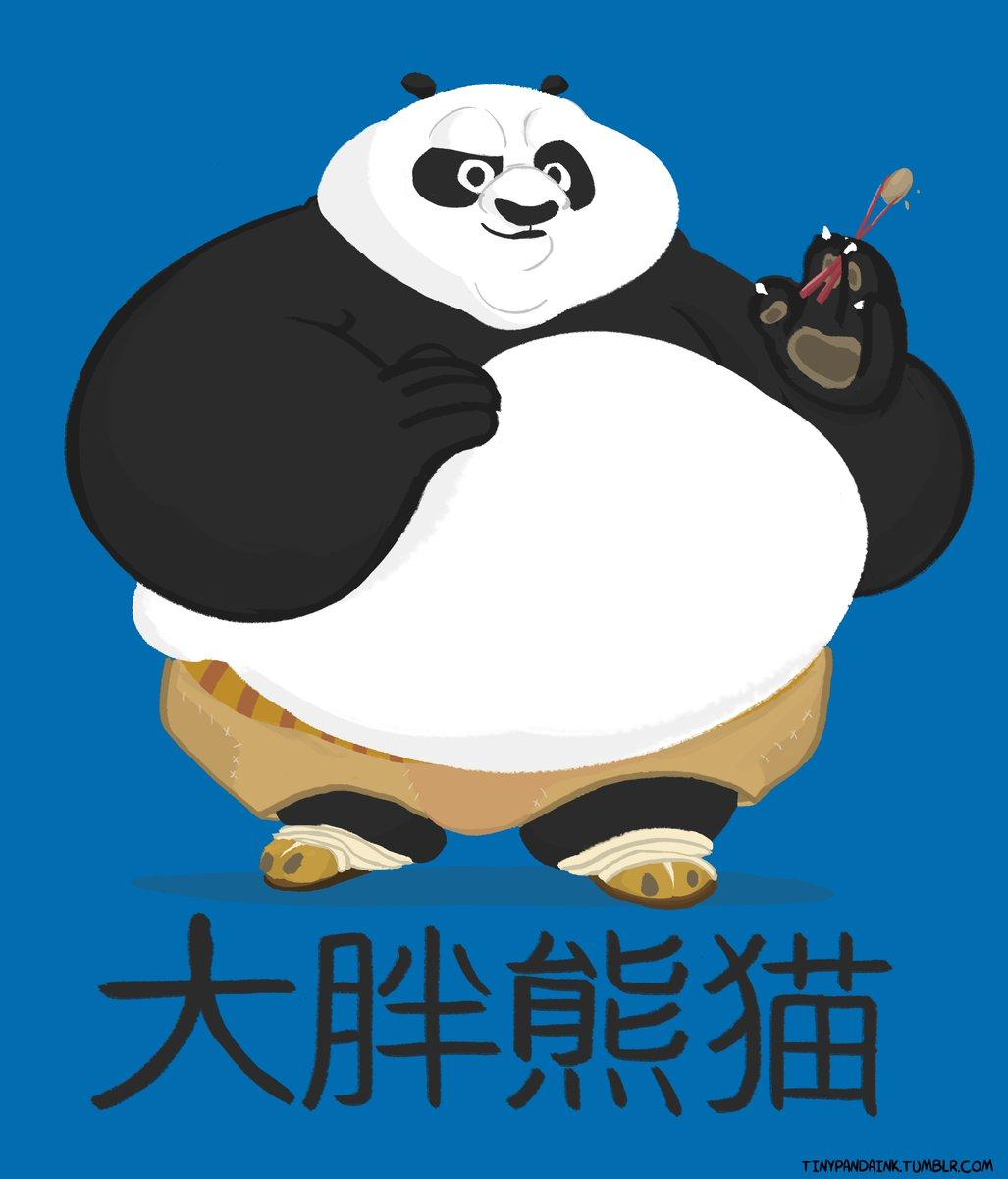 A Fat Pandanwich On Twitter He S The Big Fat Panda Po I M Very