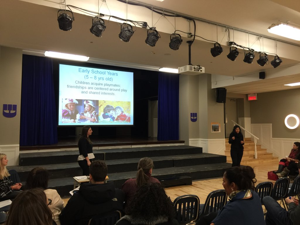 Excited to be here for an awesome parent education session about friendship with the great staff @SSAmontreal https://t.co/Kh50W63ZxA