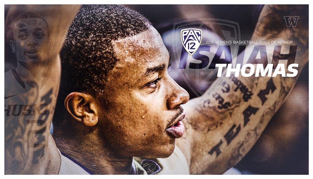 Big congrats to 1 of the best to ever play at UW, @Isaiah_Thomas, who will be inducted into the Pac-12 Hall of Honor https://t.co/0Wpn2Ml1RJ