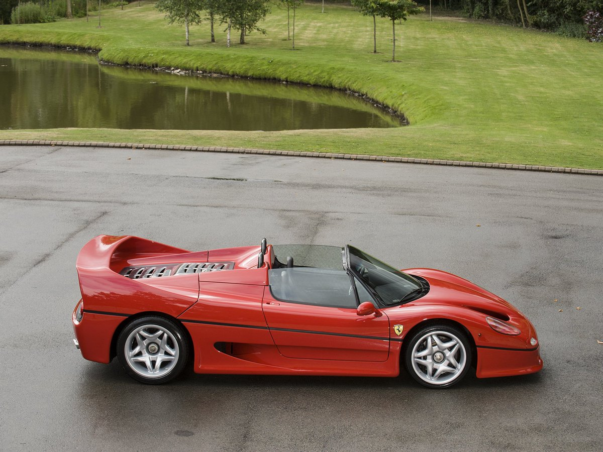 Not often you see F50's for sale, even less often do examples as good as this come up https://t.co/a4oaC3tiV0 https://t.co/Abxir5pBDQ