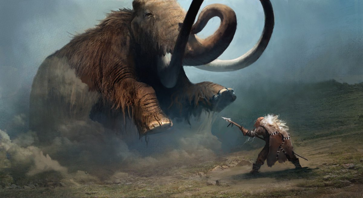 Far Cry 6 On Twitter Concept Art Now With 100 More Mammoth Https T Co G1pke5kv2v