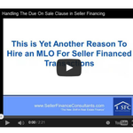 Handling The Due On Sale Clause in Seller #Financing https://t.co/O3dRruX79n #RealEstate #Investors