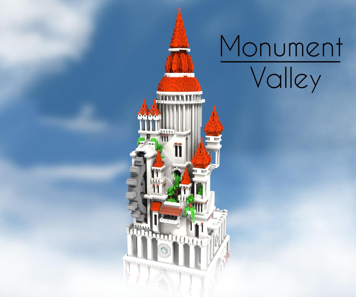 monument valley  u2013 minecraft building inc