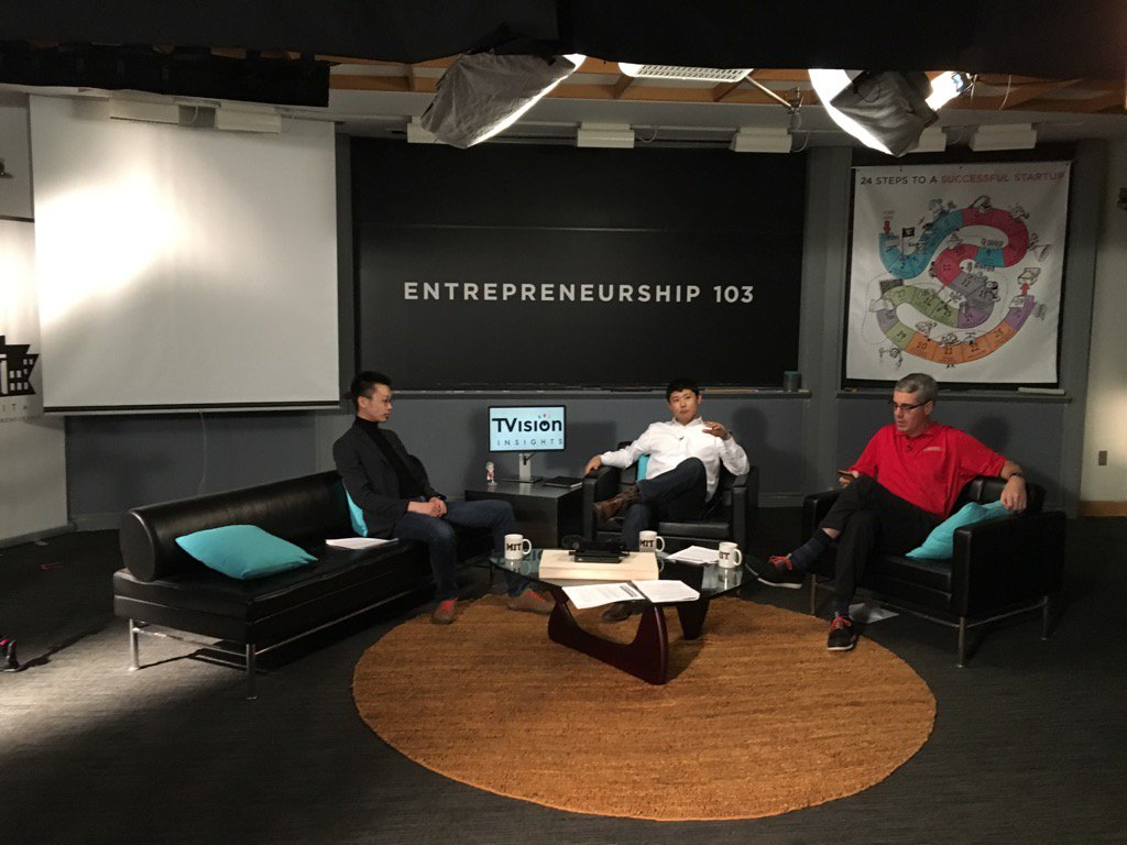 Filming @MIT15390x Entrepreneurship 103 now & it will be best yet in terms of production & case studies #staytuned https://t.co/42RDkwC7NO