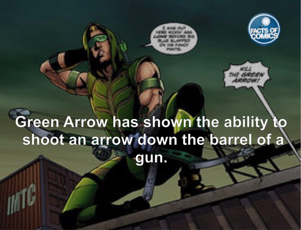 facts of comics on twitter green arrow fact factsofcomics https