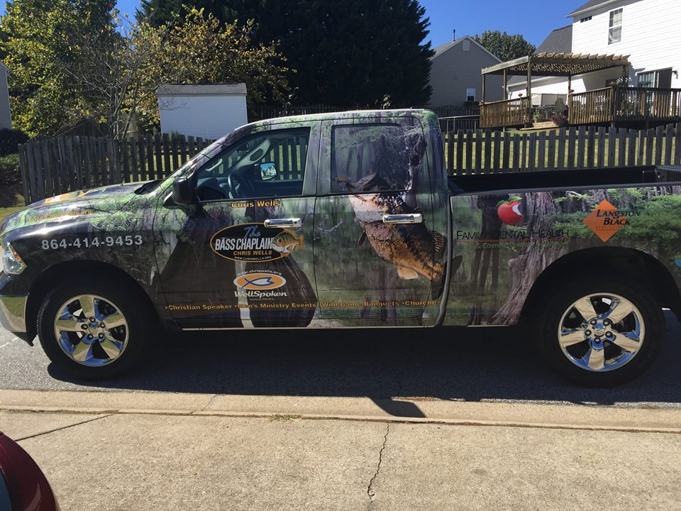 The Bass Chaplain Truck Wrap (The Bass Mobile) Retweet if you like it! #share #basschaplain https://t.co/lnTppnhU32