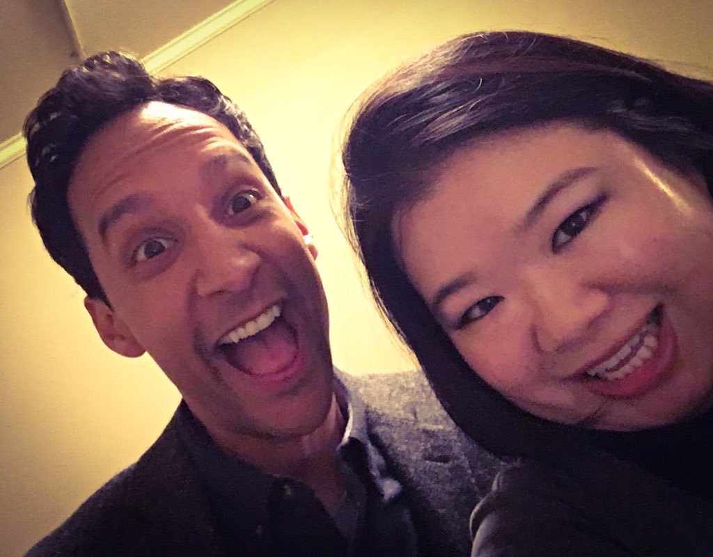Sneak peak from the #DrKen set! @dannypudi is here for an special appearance on @DrKenABC! https://t.co/SnkTCwYbvv