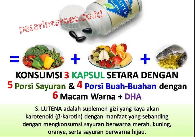 Suplemen Vitamin S lutena