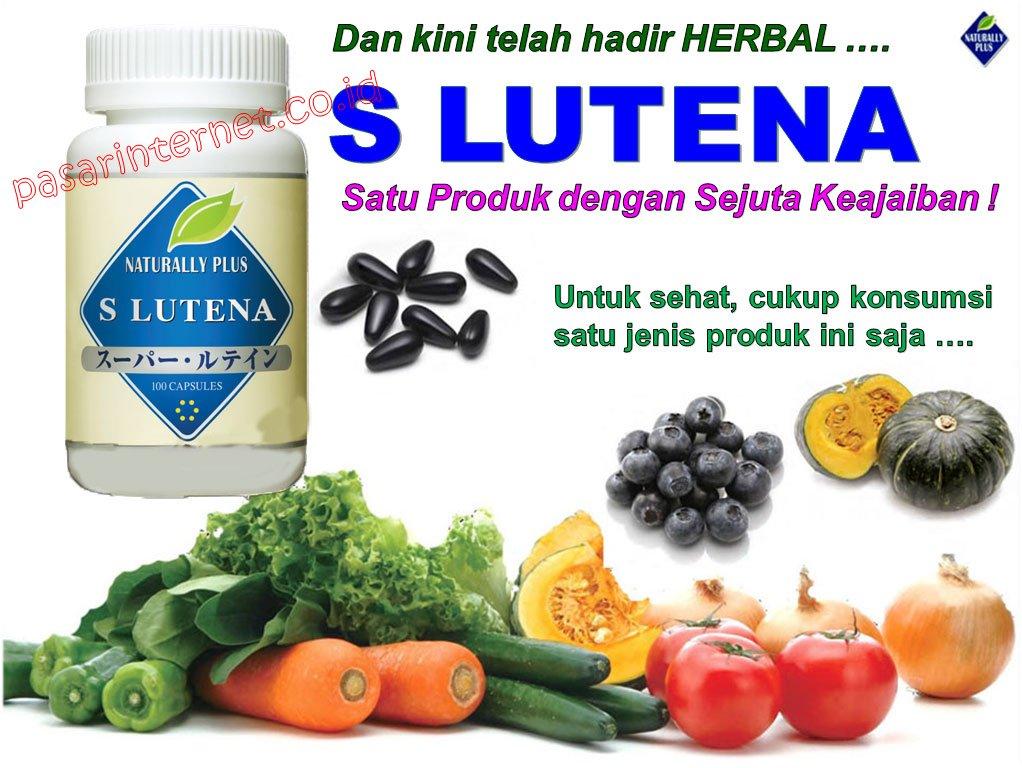 S Lutena obat herbal alami mata bengkak, mata merah, mata bintitan