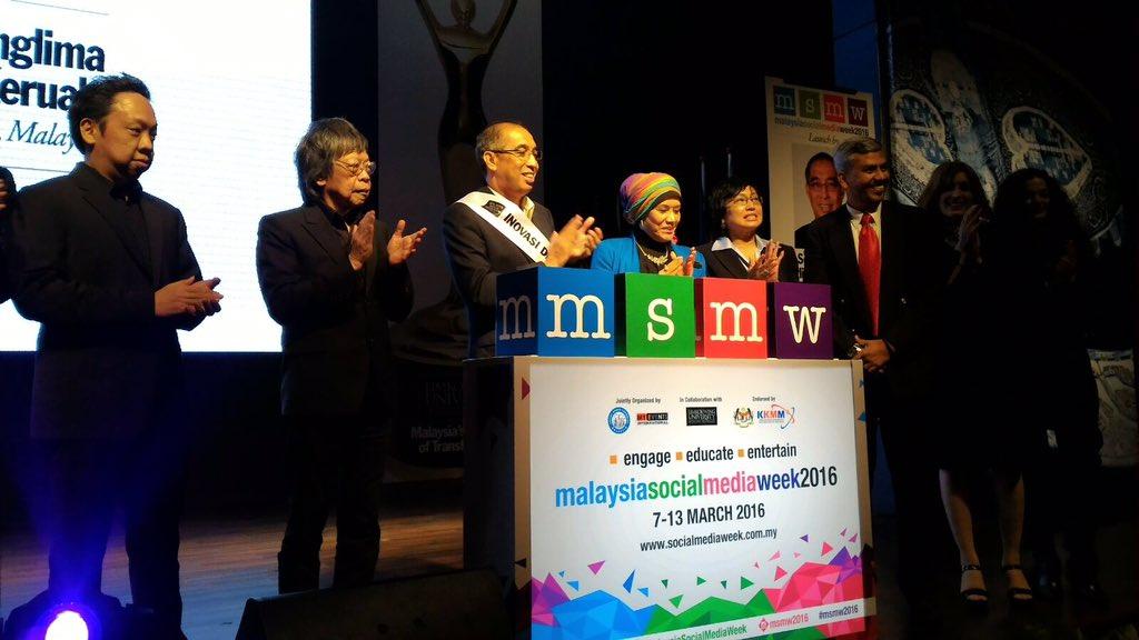SENARAI PEMENANG ANUGERAH MALAYSIA SOCIAL MEDIA WEEK 2016 !