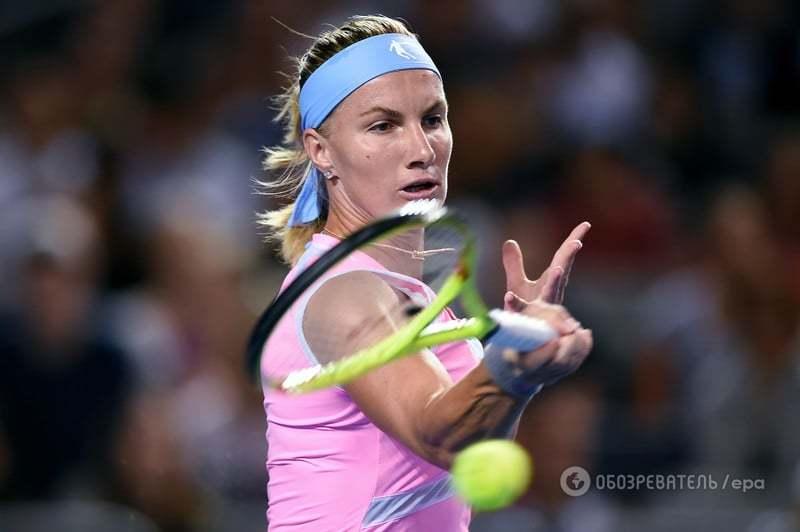 Украинская теннисистка сенсационно победила титулованную россиянку