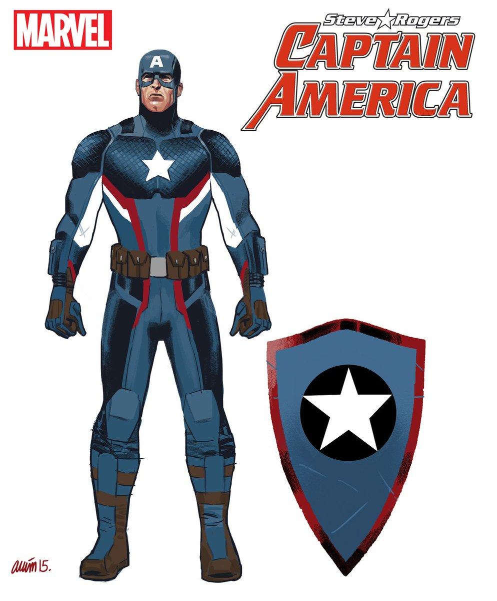 capitán américa diseño