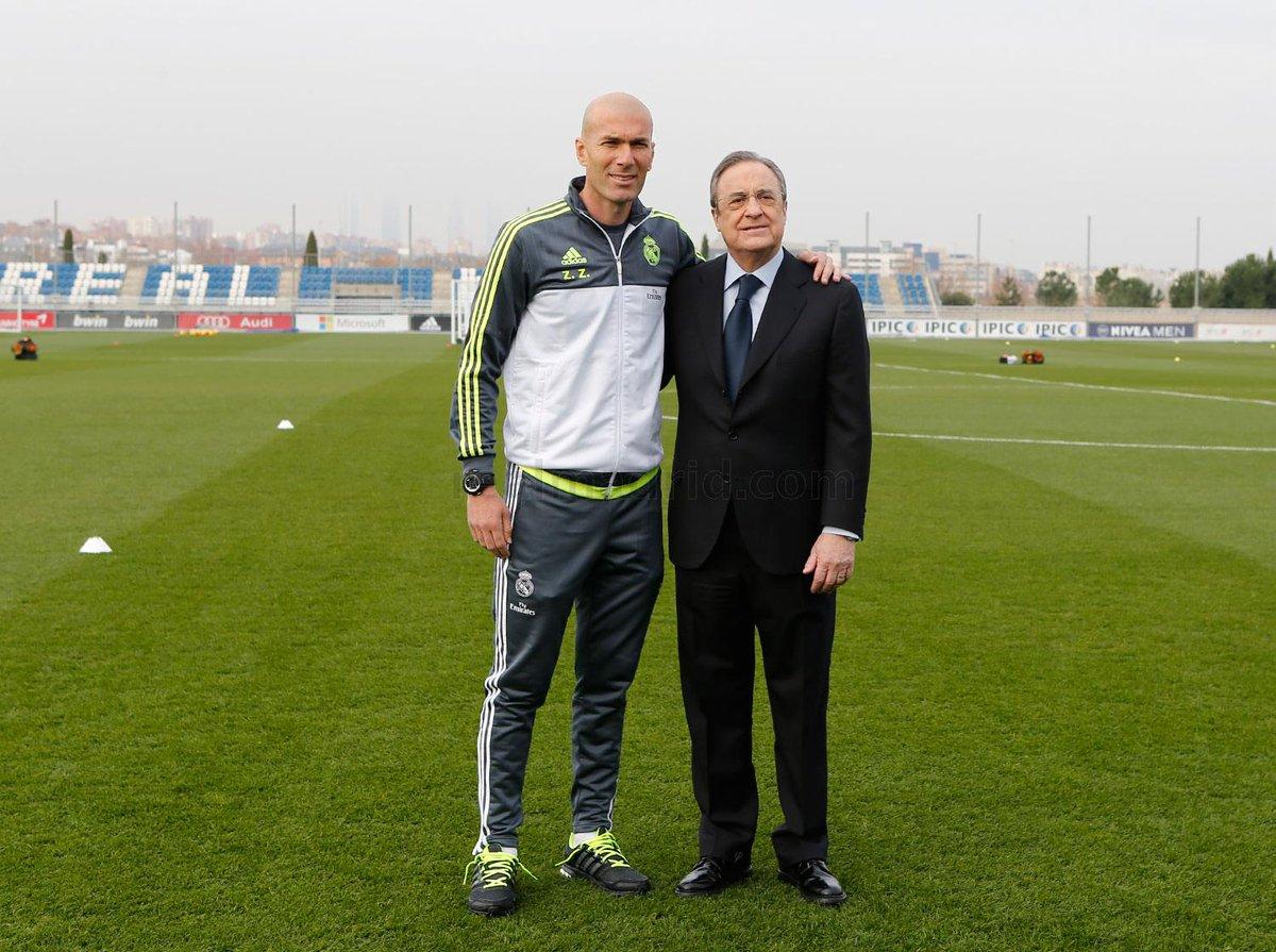 ¿Cuánto mide Zinedine Zidane? - Altura - Real height CZK4GkJWEAAQuQb