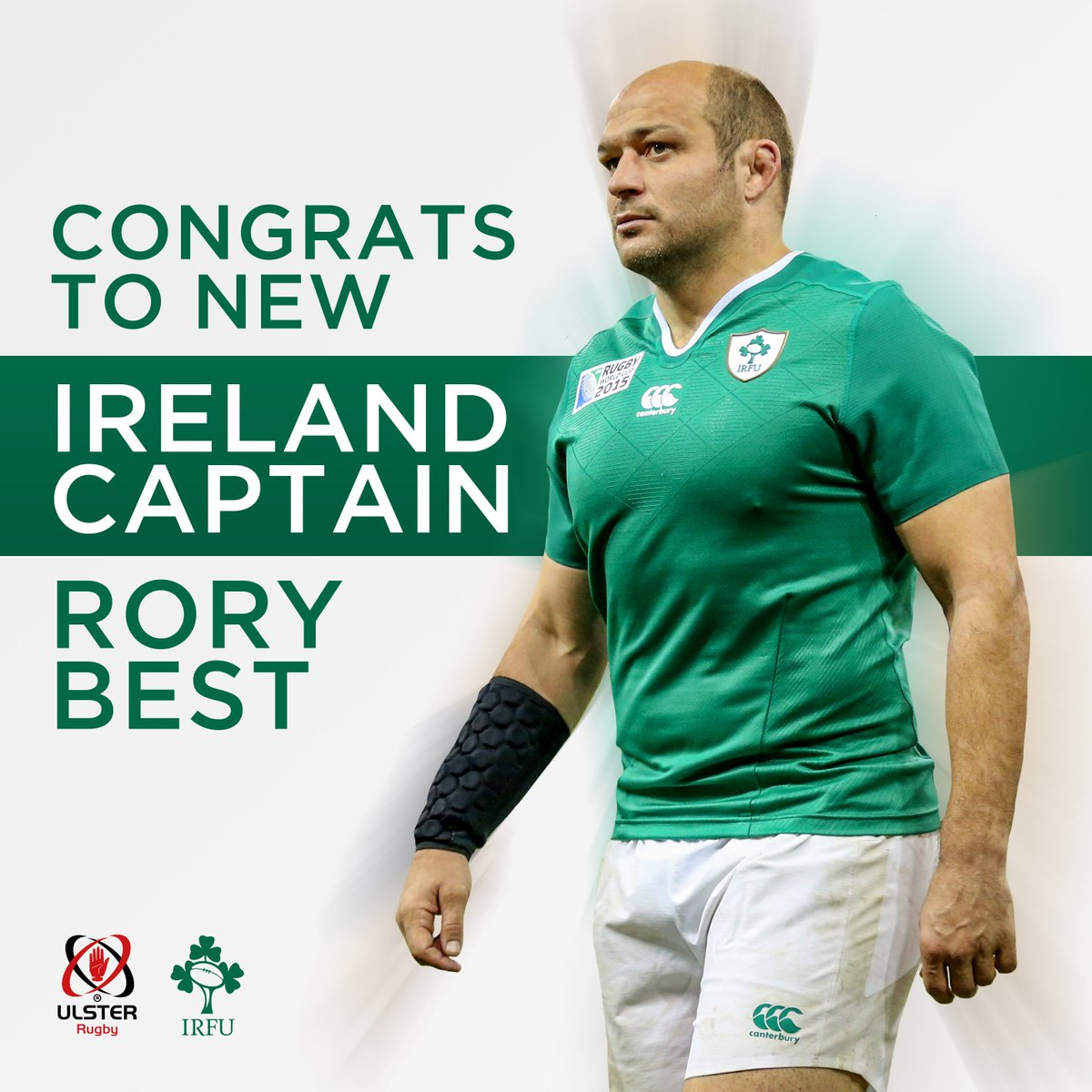 Congratulations to our captain @RoryBest2, who has just been named as the @IrishRugby captain for the #SixNations! https://t.co/Luhi4LZnCP